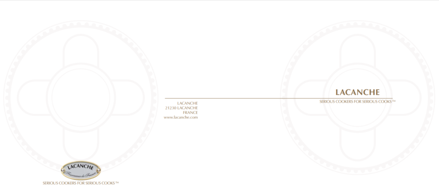 Lacanche Brochure  2020