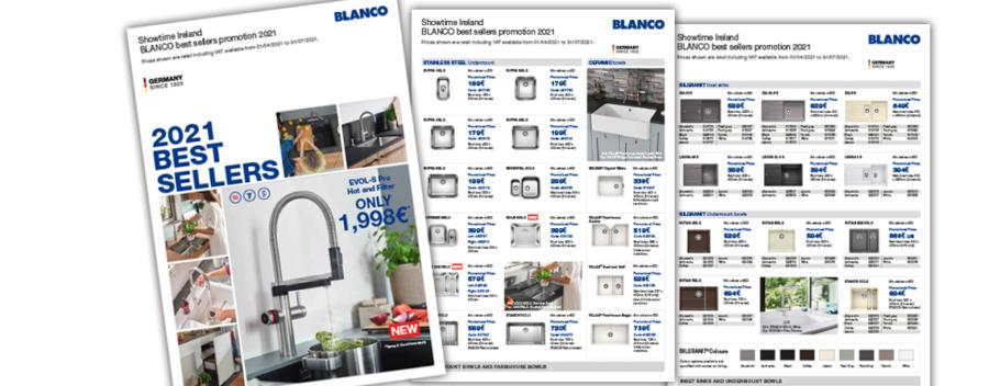 Blanco Best Sellers 2021